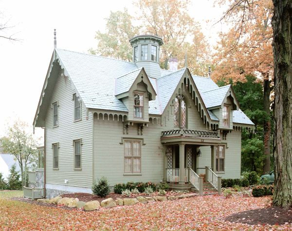 Queen Anne Gothic Style House Random Pinterest
