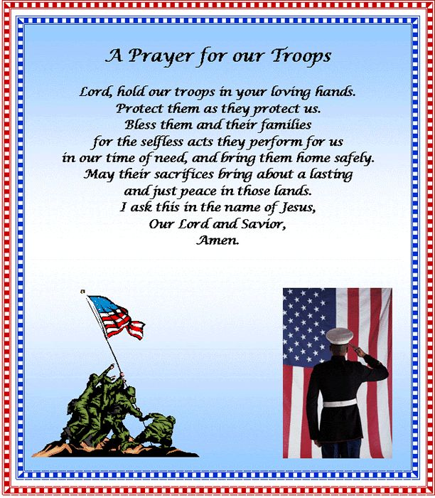 a short memorial day prayer