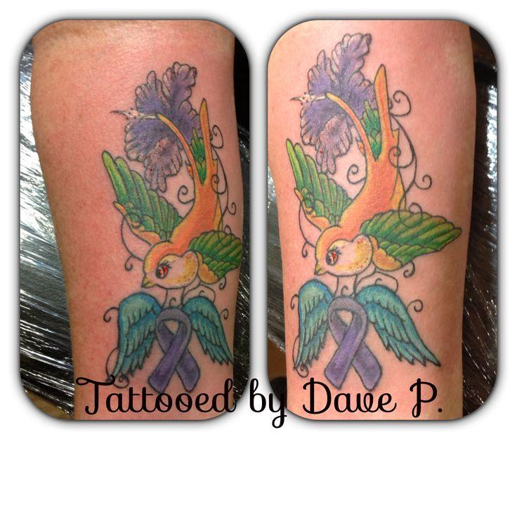 Bird Ribbon Tattoo  My Tattoos Pinterest