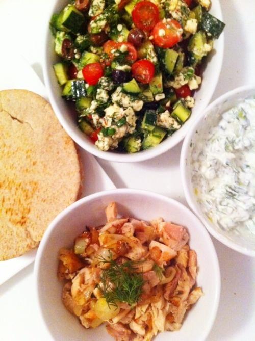 Tzatziki (Greek Cucumber Salad) Recipe — Dishmaps