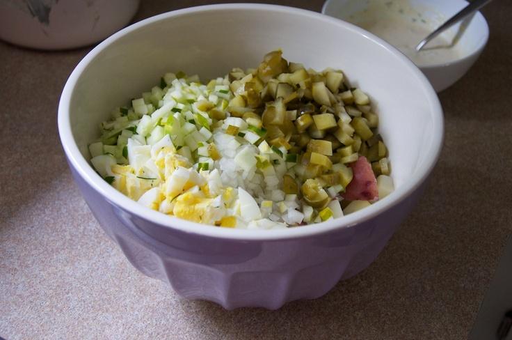 Horseradish Potato Salad Recipe | Must Try Recipes | Pinterest