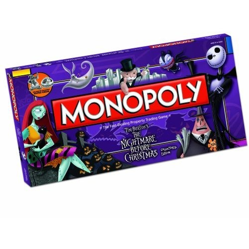 Monopoly The Nightmare Before Xmas | Monopoly | Pinterest