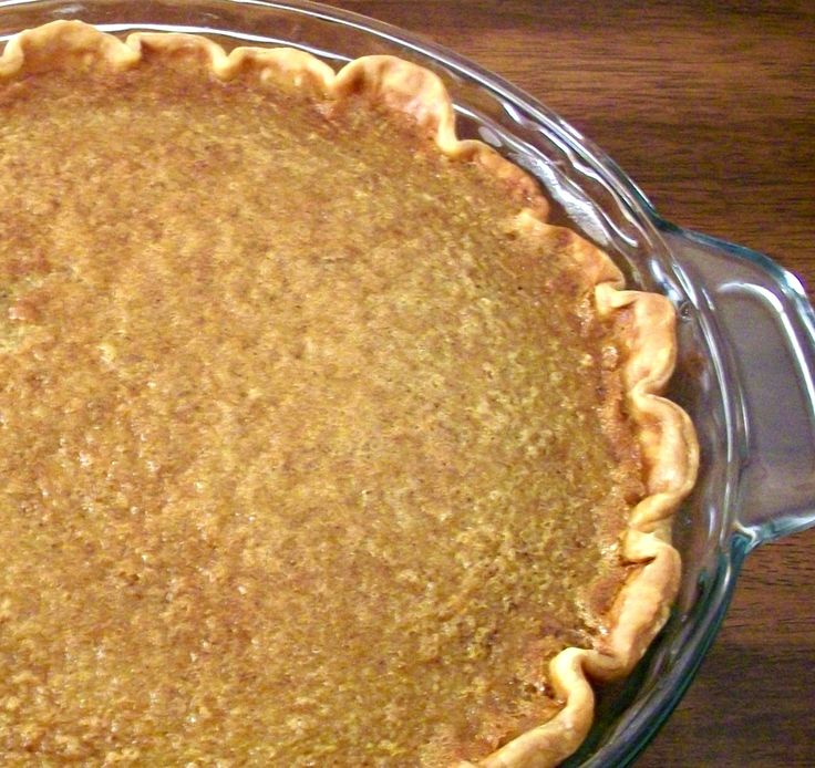 Brown-Sugar Buttermilk Pie « Kids in the Sink