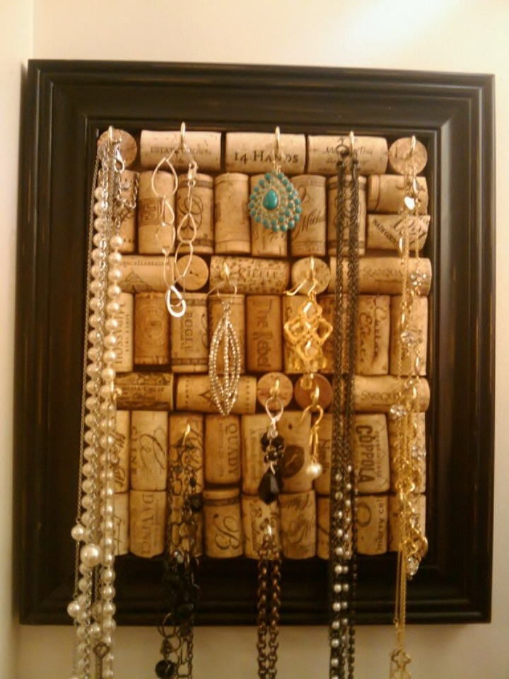 wine cork jewelry board diy for all the time i have