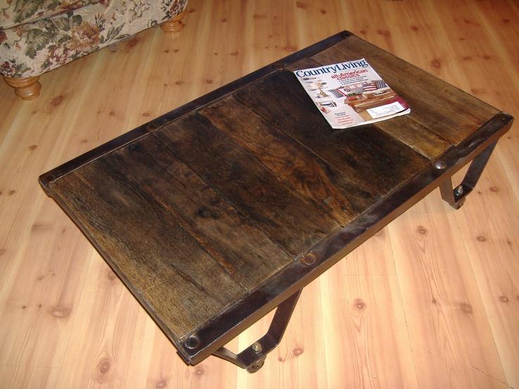 Vintage Pallet Skid | furniture | Pinterest