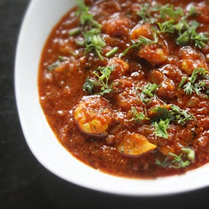 Prawn Patia (Indian Sweet and Spicy Shrimp)
