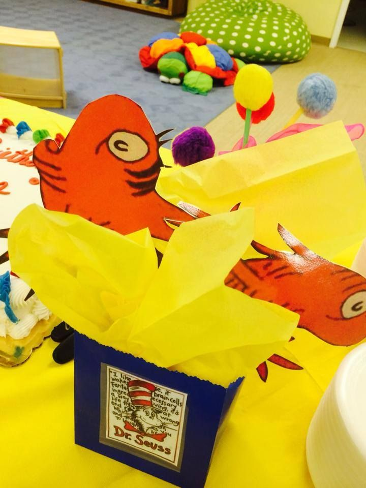 One fish two fish party decorations dr seuss pinterest for Fish party decorations