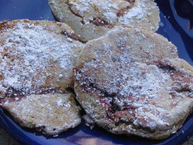 Vegan Mommy Chef: jelly donut pancake | Vegan/Nutritarian Ideas | Pin ...