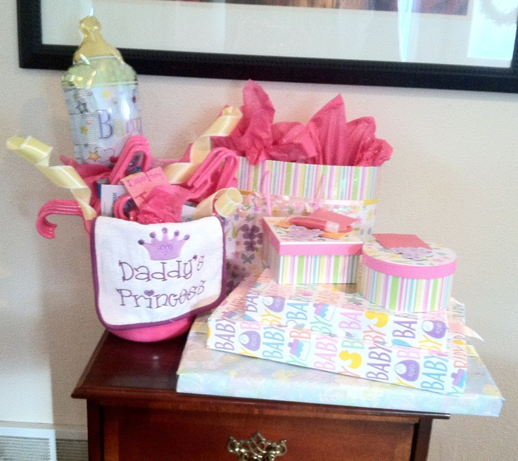 baby shower gifts inside stuff expensive outside wrapping dollar tree