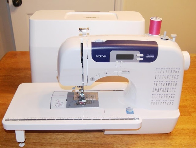 how to use a brother sewing machine cs6000i
