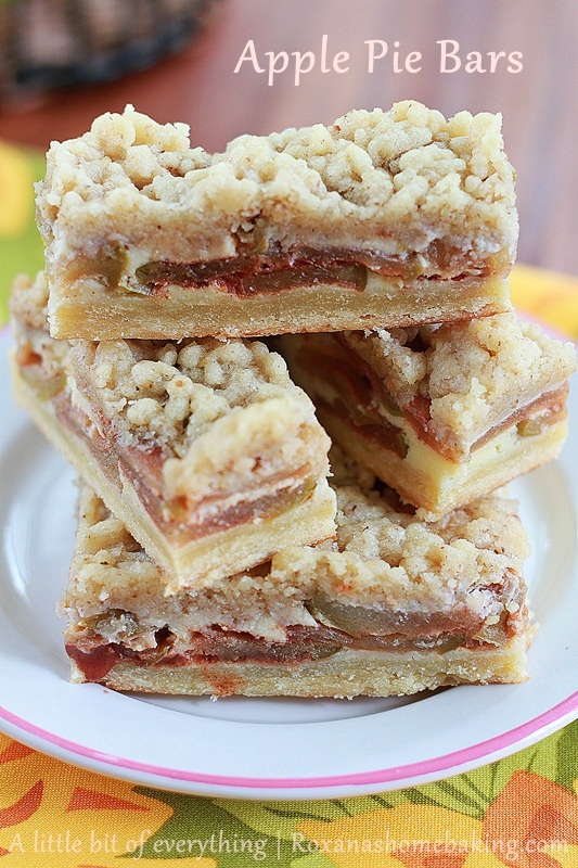 Apple Pie Bars | Delectably Delicious | Pinterest