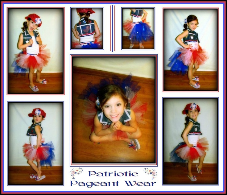 4th july pageant wear