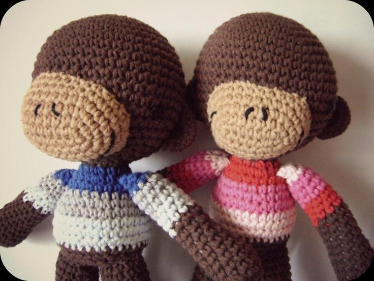 monitos tejidos a crochet | Books Worth Reading | Pinterest