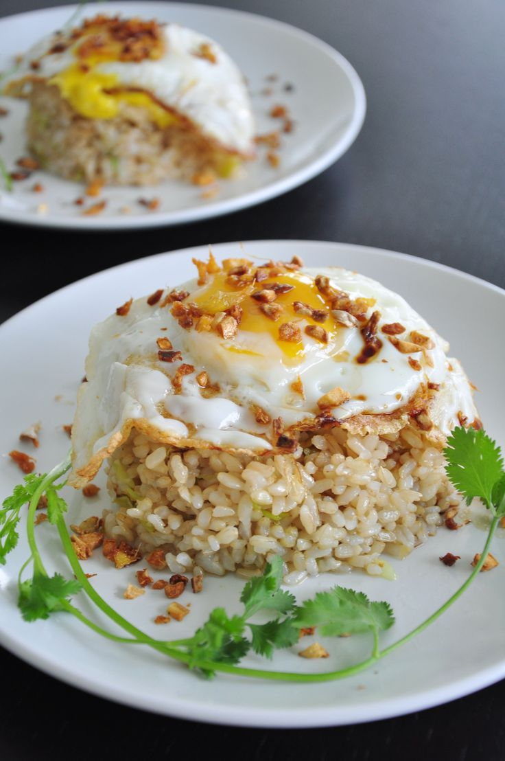 Ginger Fried Rice - Gourmet Persuasian   Recipes   Pinterest