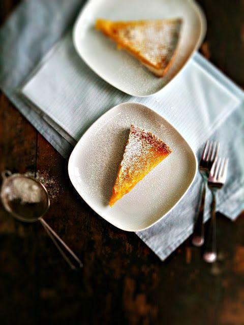 Meyer Lemon Honey Tart with Salted Shortbread Crust #OH.... I love ...