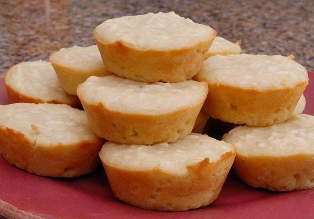 Stick a Fork In It Double Coconut Muffins