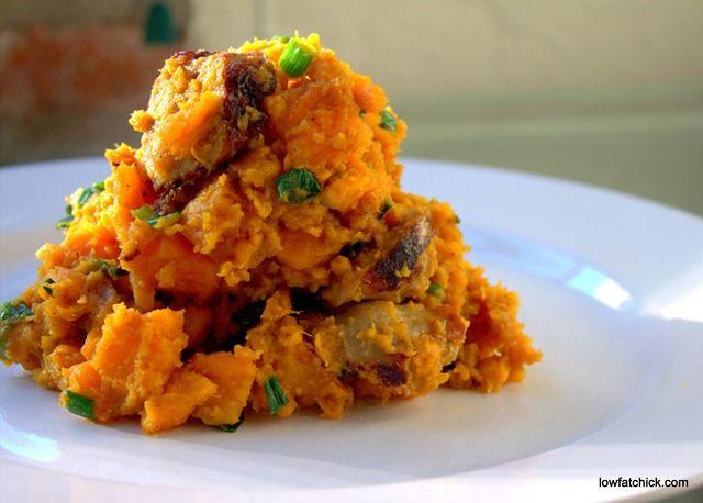 Sweet Potato and Italian Sausage Hash | Healthy Recipes from The Low ...