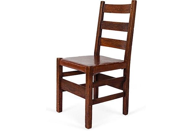 Gustav stickley ladder back chair on onekingslane com