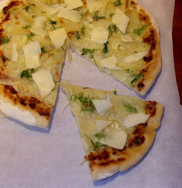 Taking On Magazines One Recipe at a Time: Potato-Dill Pizza from Donna Hay Magazine, September 2011