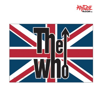 the who british flag