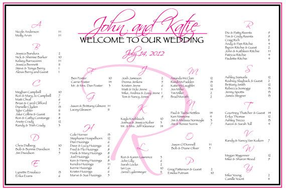 seating chart for wedding reception template choice image wedding