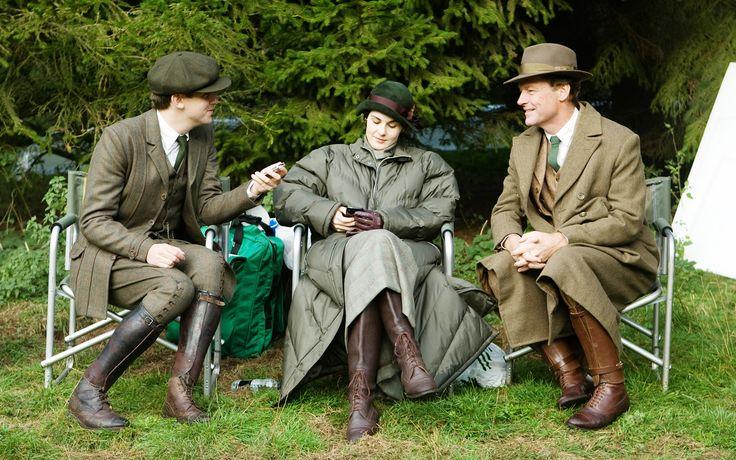 Downton Abbey on a break.