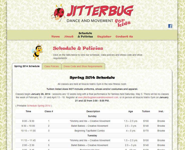 jitterbug web page