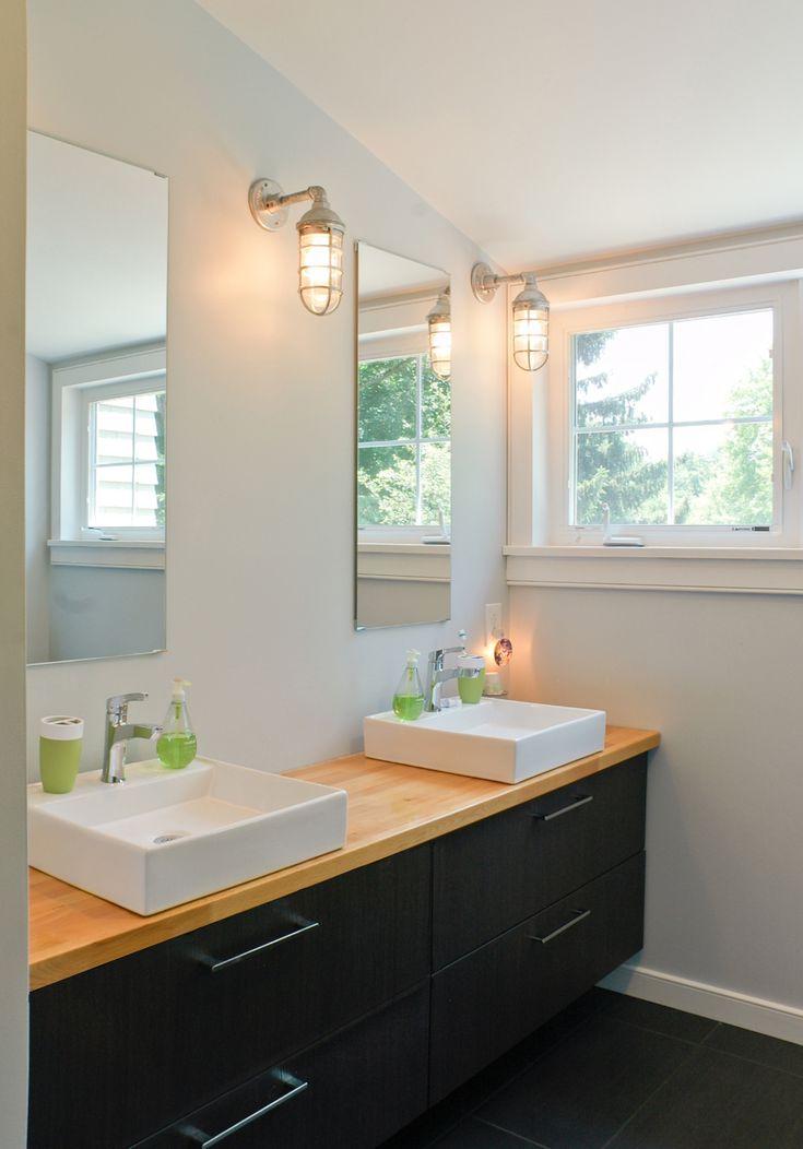 ikea hack bathroom vanity bathroom pinterest