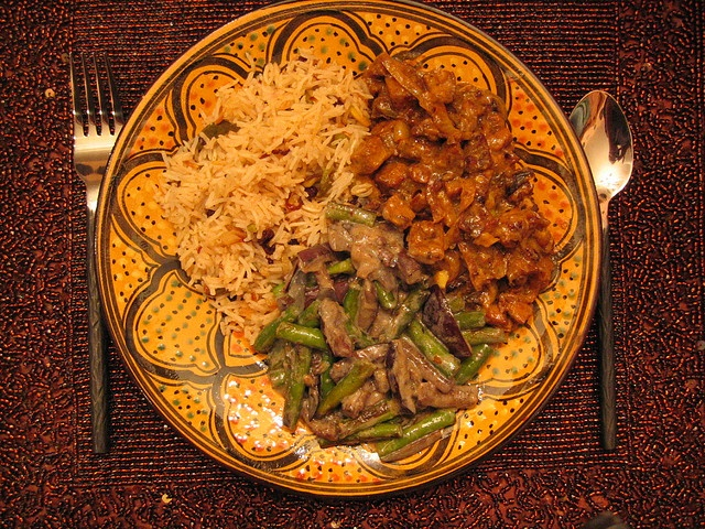 green_bean and eggplant curry   FOOD   Pinterest