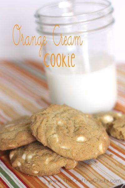 Orange Cream Cookies Recipe — Dishmaps