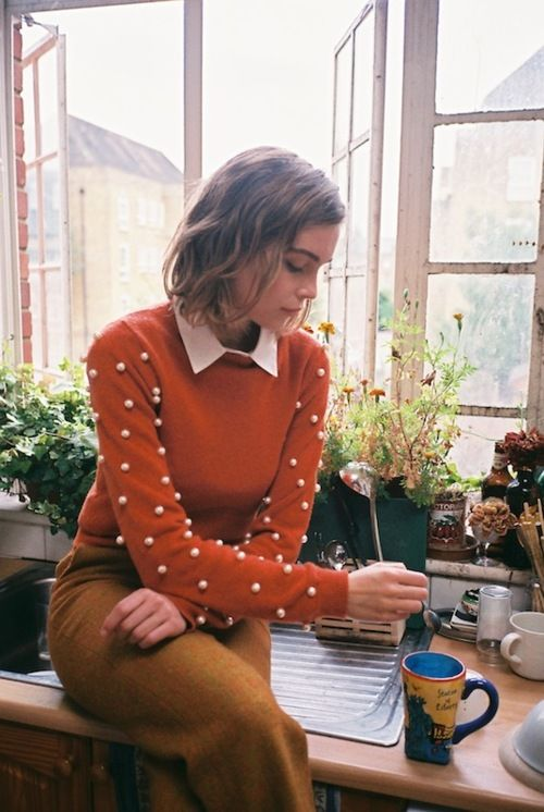 dotty sleeves.