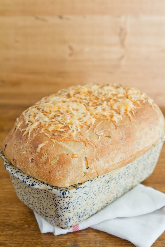 Zucchini Cheddar (yeast) Bread | Naturally Ella