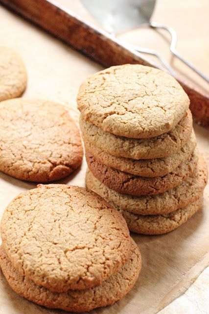 Triple Chewy Ginger Cookies - easy to change to GF