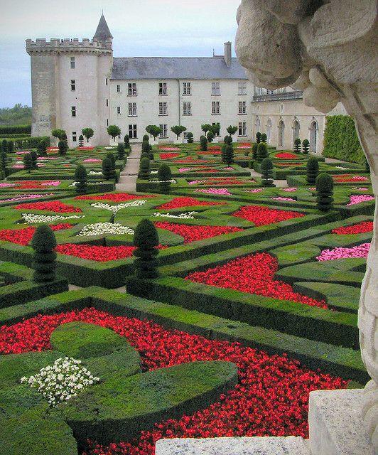 garden of love chateau de villandry france pinterest. Black Bedroom Furniture Sets. Home Design Ideas