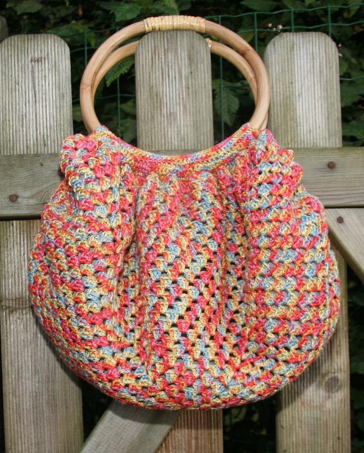 granny bag Crochet fbb Pinterest