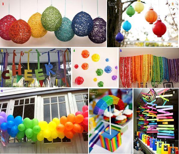 rainbow theme for next classroom  Sunday School Class  Pinterest