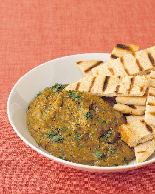 Curried Lentil Hummus | Recipe
