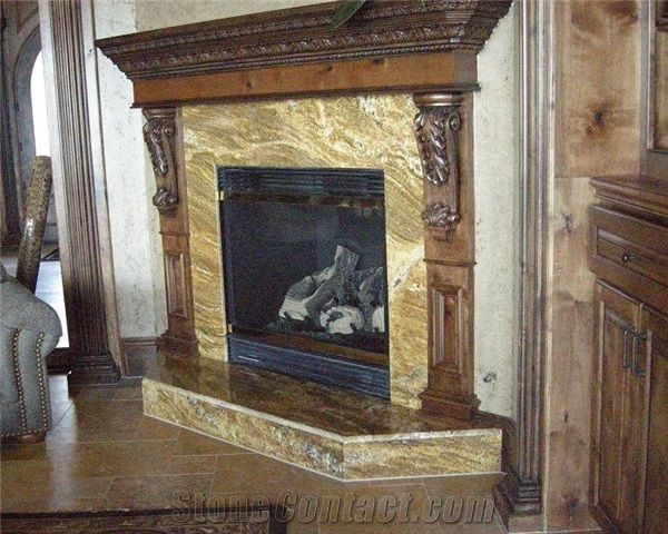 Granite Surround Marble And Granite Fireplace Surrounds Pinterest