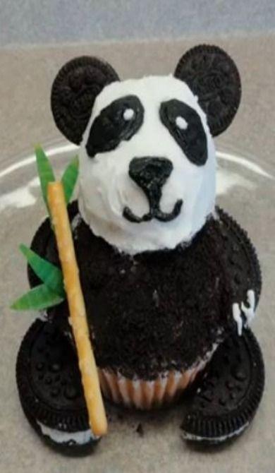 RESEP MEMBUAT OREO PANDA CUPCAKES DENGAN MUDAH Valkinz Blog