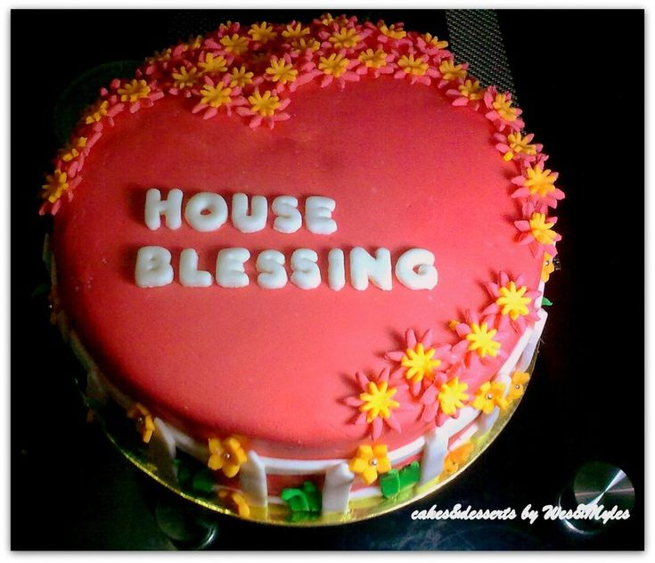 Cake Decoration For House Blessing : House Blessing cake HeartnSole Pinterest