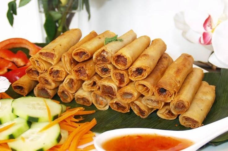 Shanghai Lumpia (Filipino spring rolls) | P.I concept | Pinterest
