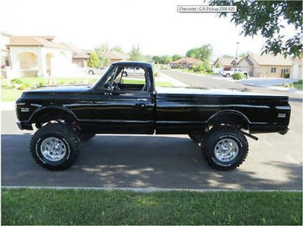 1971 chevy c20 3 4 ton trucks 4 pinterest. Black Bedroom Furniture Sets. Home Design Ideas