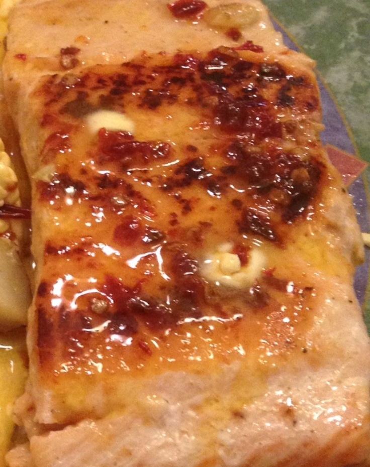 Honey Chipotle Lime Salmon.. Delicious and so easy