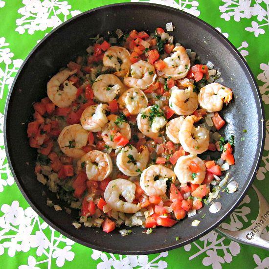 CILANTRO LIME SHRIMP] :: Butter, olive oil, garlic, onion, jalapeno ...