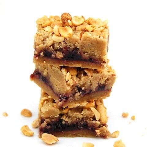 Peanut Butter And Jelly Bars | Bake'Em | Pinterest
