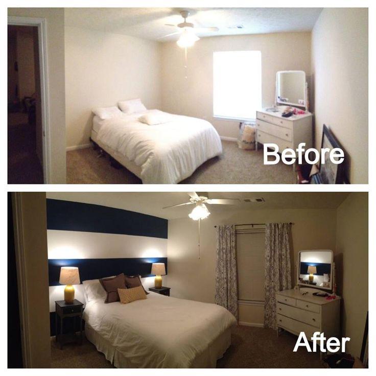 Diy Bedroom Makeover Master Bedroom Pinterest