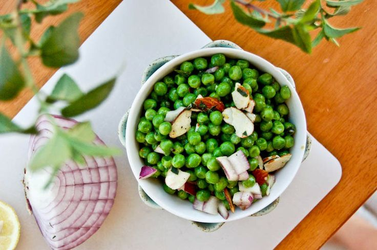 Cold Pea Salad | Gardening Yard | Pinterest
