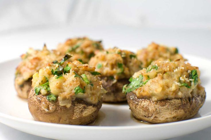 Recipe for Clam Stuffed Mushrooms