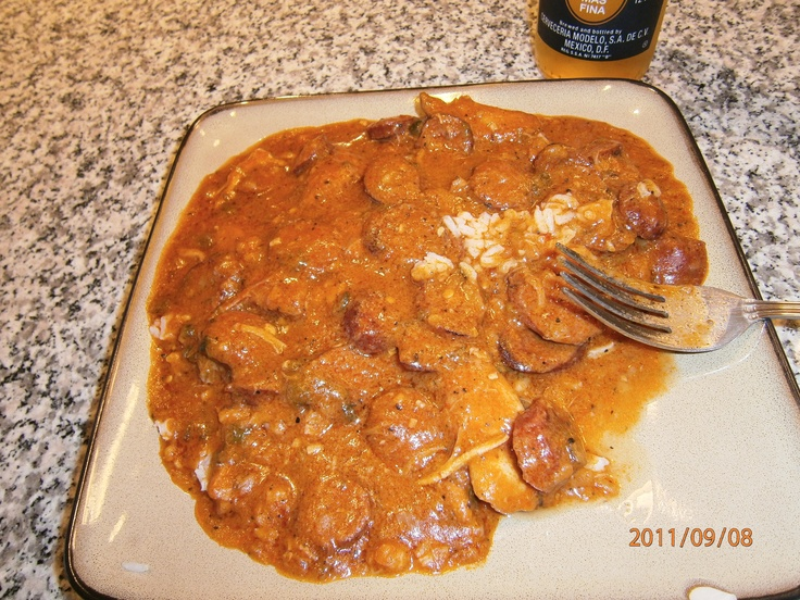 Chicken & Andouille sausage Etoufee | Yummy | Pinterest