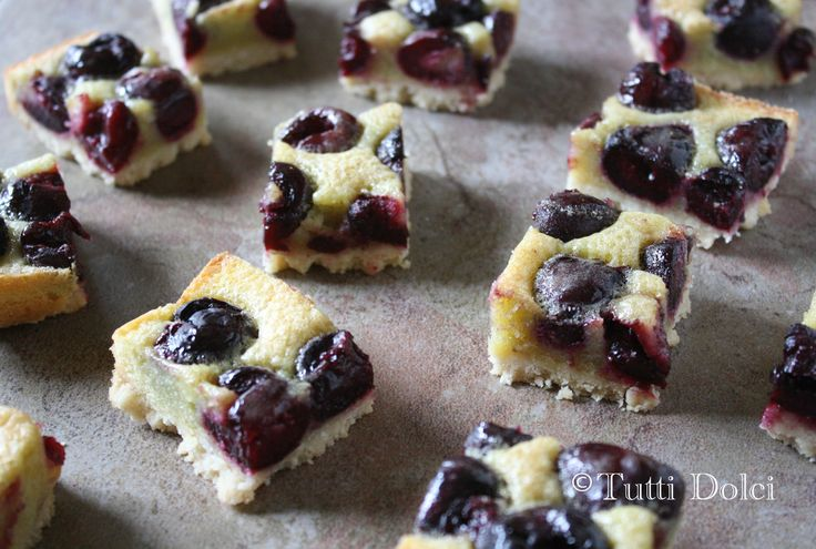 cherry brown butter bars..( my hubby LOVES cherry esp the dark ones in ...